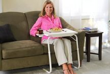 Tablemate / After using the table you can fold it back and can keep it anywhere as it require very less space