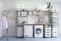 Waschküchenregal