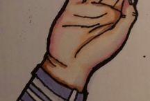hands / handdrawinds