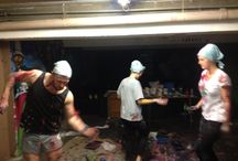 action painting / dans og maling