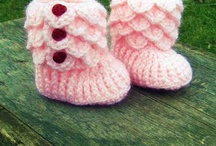 Crochet / Booties / by Jennifer Marshall