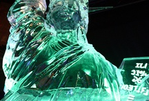 Snow and Ice sculptures / by violet perkins