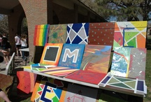 """Make!  / """"Make!"""" was Albuquerque Academy's Yearly Theme for the 2012-2013 school year. Small projects were spaced throughout the year, as well as two """"Make!"""" days in the fall and spring. Students learned how to make everything from cupcakes to mandolins."""
