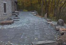 Walkways / Our team at Groundworks has experience with all styles of walkways and can create one to compliment any home and landscape.