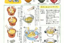 料理のレシピ