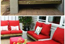OUTDOOR FURNITURE WITH BRIKS