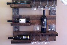 wine glass holder diy