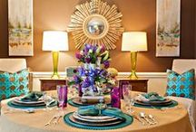 eclectic dining rooms / by Lisa Wittich