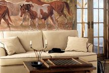 Living room / by Star Bound Horses and Western Gifts