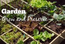 Garden: Grow and Preserve / Tips on Growing Fruits and Vegetables plus all methods of preserving them...Canning, Dehydrating, Freezing.