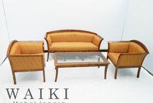 Living Chair Furniture Jepara - Waiki Mebel