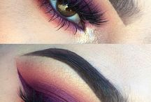 Colourful Eye make-up ✨