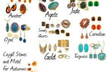 šperky jeseň