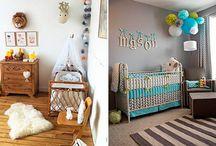 Bebês / Ideias de espaços infantis.