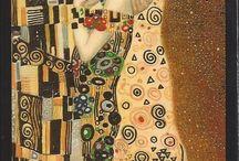 Klimt tarot cards