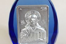 Glass Orthodox Art / Orthodox Religious Articles on Glass