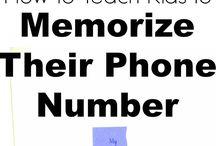 Memorising tips