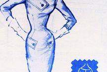 Vintage Modes Royale Patterns