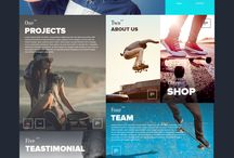 Webdesign / Inspirational webdesigns.
