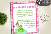 Baby Shower Products in Frog Theme, Invitations, Games, Decorations And More / Hi, thank you for visiting this beautiful baby shower board with products in Frog theme. Here, you'll find different invitations, games and activities, decorations and more with over 40 products in this theme.
