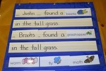 Preschool....Interactive charts / by Ellen Gagliardi