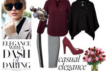 4 Seasons - Spring / Ideas for stylish spring outfits