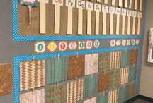Burlap classroom