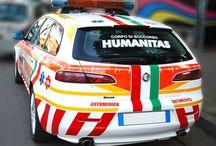 decorazione veicoli speciali / decorazione veicoli speciali, vetture della poilizia, dei carabinieri, vigili del guoco, ambulanze etc etc... http://www.santorografica.com/decorazione-automezzi.php
