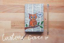 cuadernitos, anotadores, etc... / lo que tengo pensado hacer... algún día  / by Roxana Caceres