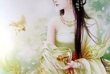 中国美人画