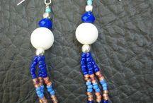 Perles : Boucles d'oreille