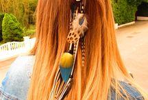 plumes cheveux