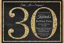 30th birthday party