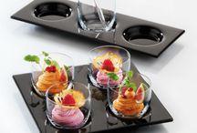 FRESCURA EN LA MESA / Una selección de vajilla, cristalería y equipo para restaurantes en locaciones de playa y climas cálidos. ¡Frescura pura en un tablero!