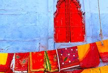 Sublimes Couleurs en Inde