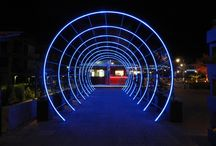 Piazza Santa Roza / LED LIGHTING PROJECT WITH RGBWW 3 CABLE SMART LIGHTS