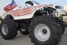Collection-Monster Trucks (for Saw) / Saw's board-all about monster trucks