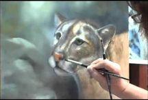 Painting fur