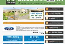 Tamil Nadu Global Investors Meet Live Streaming – GIM 2015 Live
