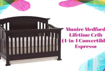 Munire Medford Lifetime Baby Crib Review / Are you looking to find an all rounded piece of furniture that is versatile to accommodate your baby over several years? Well, considering a 4-in-1 convertible crib is a great idea. Though the market is crowded with various brands and models, the Munire Medford lifetime crib is a great consideration.