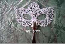 crochet - mask