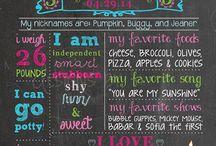 birthday chalkboard ideas