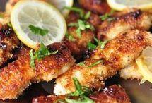 recette de poulet frit au citron