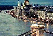 Boedapest, hoofdstad van Hongarije / Pins over Boedapest, de hoofdstad van Hongarije.