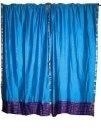 Saree curtain ideas / Use for Sarees'