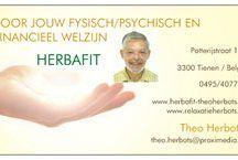 Herbafit Theo Herbots / Bezoek mijn sites www.herbafit-theoherbots.be en www.relaxatieherbots.be en www.shiatsuleerling-massage-relaxatie.be
