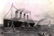 Titanic moje kresby - My Titanic drawings / Titanic, kresby legendy - Titanic, drawings of a legend.