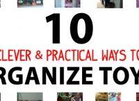 Storage ideas for toys