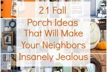 Fall Decorating / Ideas to decorate your home for fall