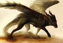 wolves and dragons